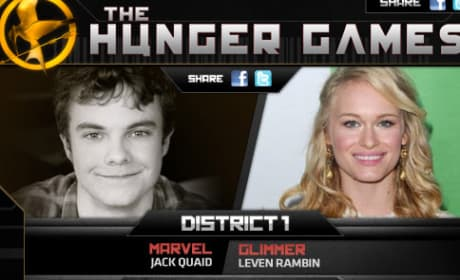 District 1 Cast for The Hunger Games