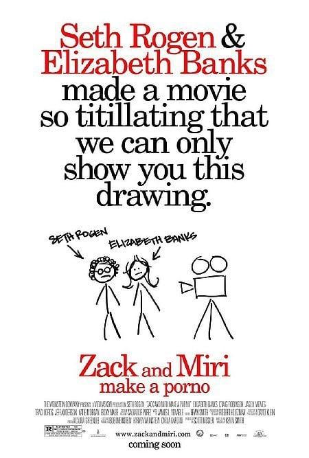New Zack and Miri Make a Porno Poster
