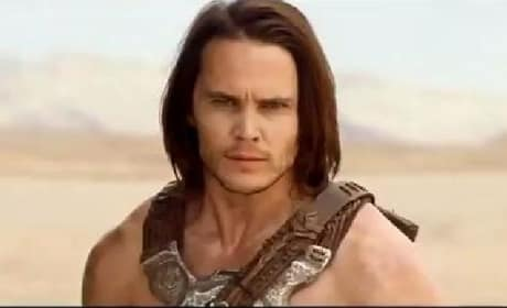 John Carter TV Spot: Taylor Kitsch Leaps Off the Screen