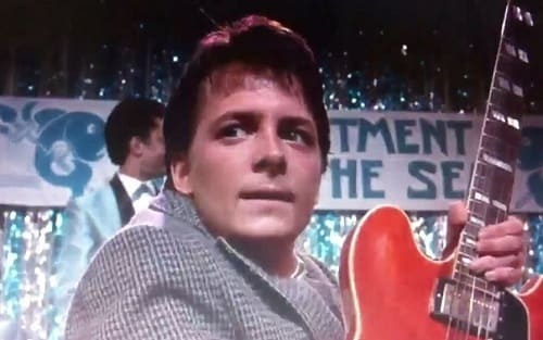 Michael J. Fox Back to the Future