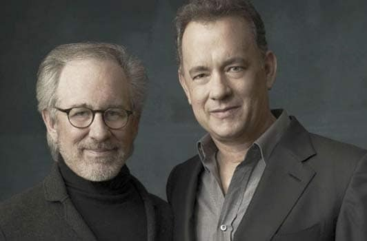 Tom Hanks Steven Spielberg Photo