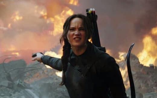Jennifer Lawrence Mockingjay Part 1 Photo