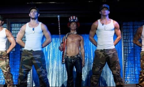 Magic Mike: Matthew McConaughey's Patriotic First Still