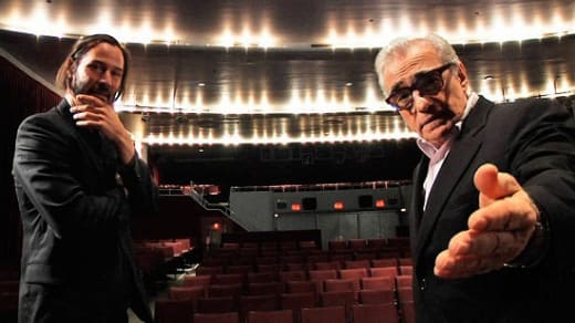 Keanu Reeves Martin Scorsese Side by Side