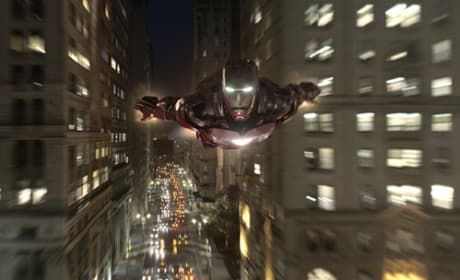 Two New Avengers Stills: Iron Man Takes Off