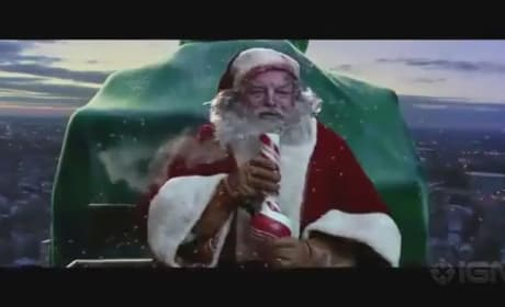 A Very Harold and Kumar 3D Christmas Red Band Trailer: Santa Gets Shot