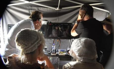 The Pirates of the Caribbean Dead Men Tell No Tales Set Photo: Johnny Depp Is Back!