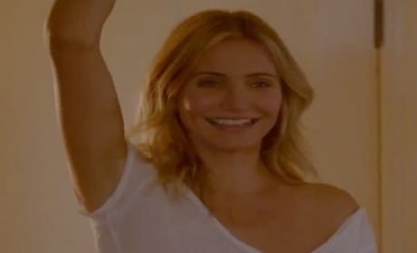 Sex Tape Clip & Photos: Cameron Diaz Is Rolling!
