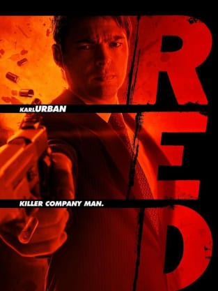 Red Character Poster- Karl Urban