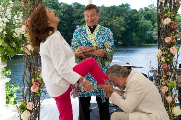Susan Sarandon, Robin Williams, and Robert De Niro The Big Wedding