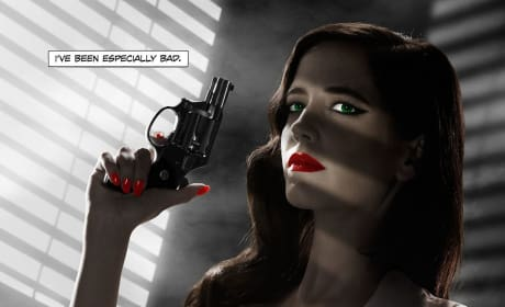 "Sin City A Dame to Kill For: Eva Green Calls Poster Being Banned ""Odd"""