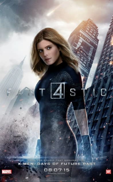 Invisible Woman Character Poster