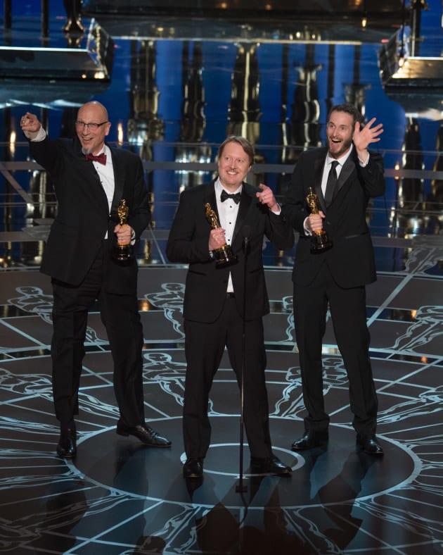 Big Hero 6 Directors Oscar Speech