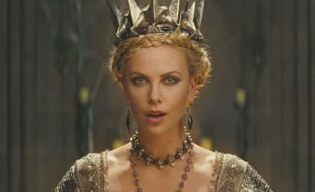 Charlize Theron as the Evil Queen in Snow White and the Huntsman