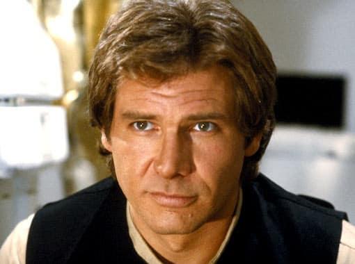 Harrison Ford is Han Solo