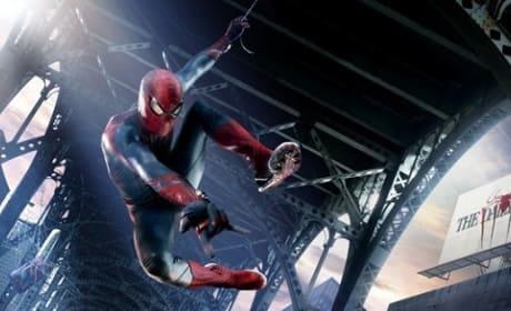 Andrew Garfield Stars in The Amazing Spider-Man