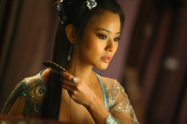 Jamie Chung in The Man with the Iron Fists