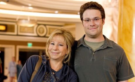 Seth Rogen Barbra Streisand The Guilt Trip