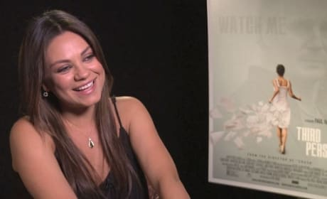 "Third Person Exclusive: Mila Kunis on ""Always"" Working with James Franco"
