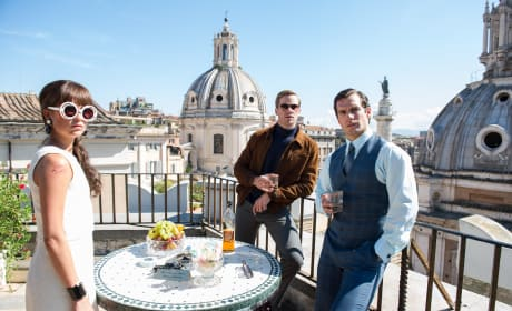 The Man from U.N.C.L.E.:  First Photo Unveiled!
