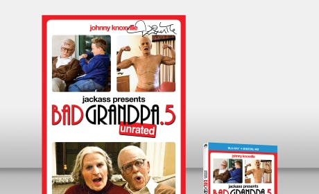 Bad Grandpa Exclusive Giveaway: Win Johnny Knoxville Signed Blu-Ray & Poster