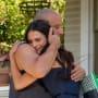 Vin Diesel Jordana Brewster Fast and Furious 7 Set