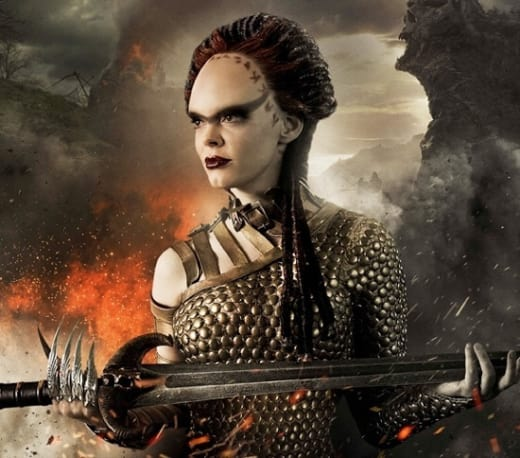Conan the Barbarian star Rose McGowan