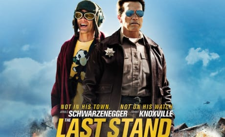 The Last Stand Quad Poster: Not In His Town