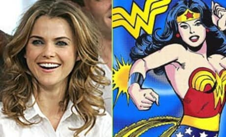 Keri Russell is Wonder Woman!