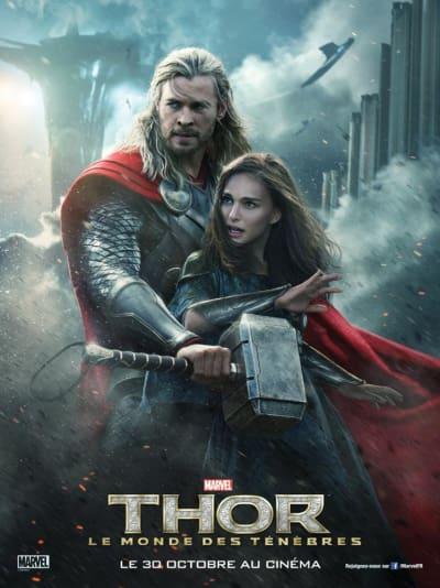 Thor The Dark World Jane Foster Poster