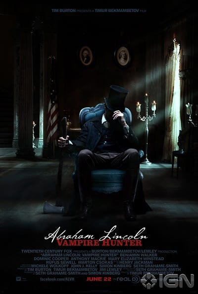 Abraham Lincoln: Vampire Hunter Poster One