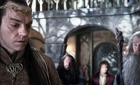 Hugo Weaving The Hobbit