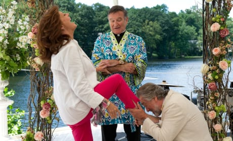 Susan Sarandon, Robin Williams, and Robert De Niro The Big Wedding