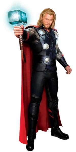 Chris Hemsworth Full-Body Thor Costume