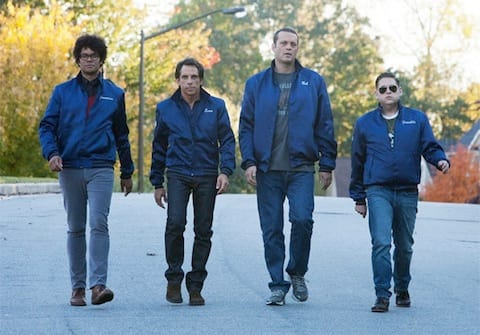 Jonah Hill, Ben Stiller and Vince Vaughn in Neighborhood Watch