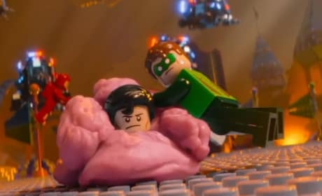 The LEGO Movie Green Lantern