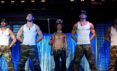 Who are you most excited to see take his clothes off in Magic Mike?