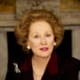 The Iron Lady is Meryl Streep