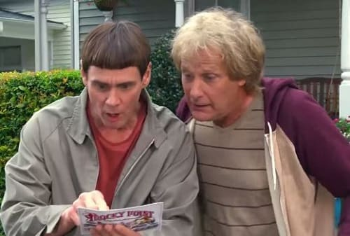 Jeff Daniels and Jim Carrey in Dumb and Dumber To