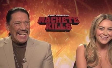 Machete Kills Exclusive: Danny Trejo & Alexa Vega Dish Where Machete Goes Next!