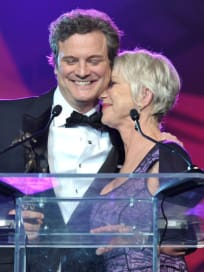 Colin Firth Palm Springs Film Fest. Award Pic