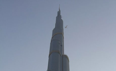 Tom Atop the Burj