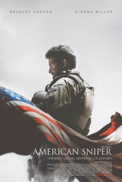 The American Sniper Poster