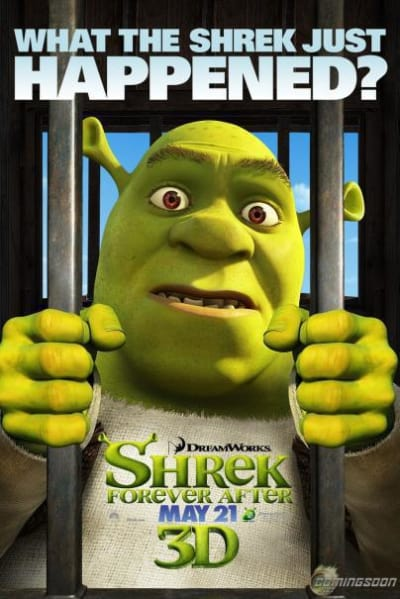 Shrek Forever After What the Shrek Just Happened? Poster