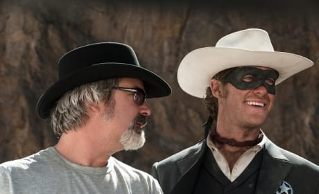 "The Lone Ranger: Gore Verbinski Calls Johnny Depp & Armie Hammer ""Pair of Numbskulls"""