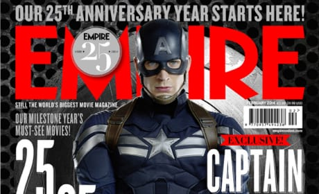 Captain America The Winter Soldier: Cap Covers Empire