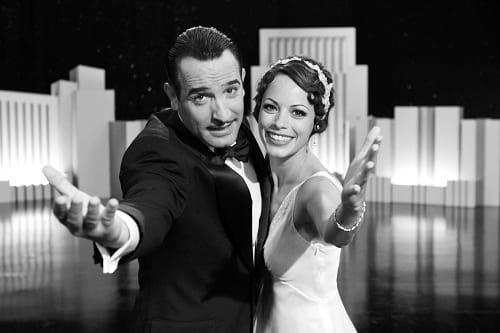 Jean Dujardin and Berenice Bejo in The Artist