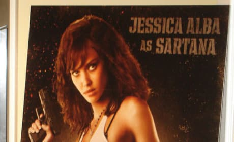 Jessica Alba: Sexy With a Machete!