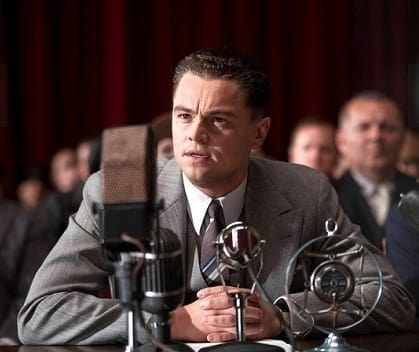 Leonardo DiCaprio stars as J. Edgar