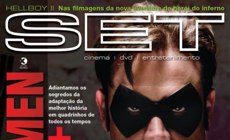 Watchmen Characters Featured in SET Magazine